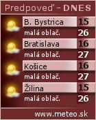 Predpoved počasia :: www.meteo.sk