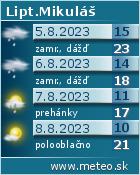 Predpoved pocasia : www.meteo.sk