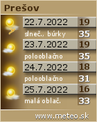 Predpoveď počasia : www.meteo.sk